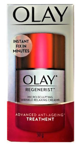 Olay Regenerist Micro Sculpting Anti-Aging Wrinkle Relaxing Cream, 1.7 oz