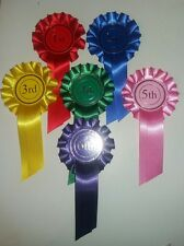 1st To 6th X5 30 Rosettes Dog Show Horse Event
