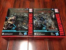 Transformers Studio Series GRIMLOCK + BLACKOUT Leader Class Action Figure 2-SET