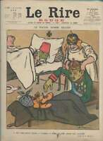 Journal Le RIRE Rouge, édition de guerre N° 187 du 15 juin 1918