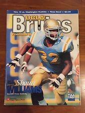 November 15, 1998 UCLA Football Program