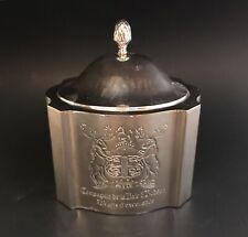 Hudson's Bay Company Silver Plated Trinket Box Caddy Celebrating 325 Years