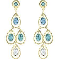 Swarovski 5390672 Last Summer Chandelier Pierced Earrings Authentic