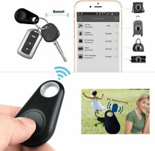 Smart Bluetooth Low Energy Anti-Lost Alarm Wireless Remote GPS Tracker BLACK