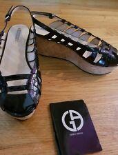 Georgio Armani women Wedge Sandals Size 38.5/8.5US