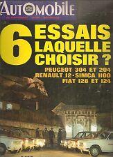 L'AUTOMOBILE 284 1970 CITROEN M35 CRITERIUM CEVENNES PORSCHE 908 917 EAGLE GURNE