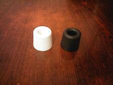 Black or White Rubber Door Stop Stopper Floor Holder