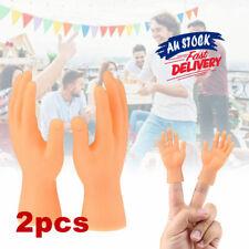 2Pcs Hands Hands Props Toy Gift Tiny Finger Finger Puppets