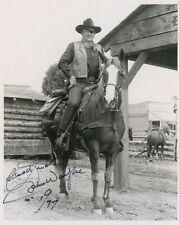 RP Autograph RP Signed John Wayne 8X10 B&W RP Photo Free Shipping