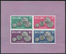 MALAWI = NEW COINS S/S  MNH MONEY, ELEPHANT, CHICKEN, FOOD  A13