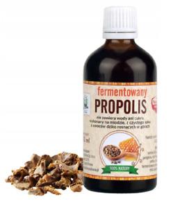 Natural Fermented Propolis Probiotic Tincture 100ml, Non-Alcohol, FREE P&P