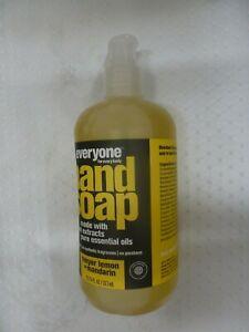 EVERYONE~~MEYER LEMON + MANDARIN~~HAND SOAP 12.75 FL OZ PUMP