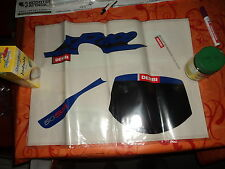 Juego de pegatinas Kit de decoración DERBI Senda SM Original 00h05158652