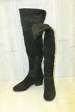 Joie Bentlee Thigh-High Suede Boot - Women's Size 38 (US 8) - Black