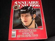 ANNUAIRE LNH 1996°STATISTIQUES,APERCUS...<>RÉTROSPECTIVE ° FRENCH BOOK