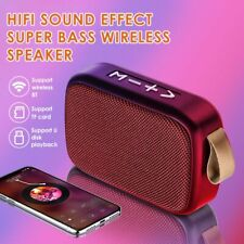 Bluetooth Speaker Outdoor Portable Wireless Subwoofer Stereo Music Surround