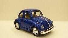 1967 Volkswagen Classical beetle Kinsfun blue TOY model diecast Car open doors