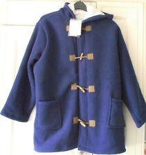 Julipa Navy Fleece Lined Ladies Toggle Duffle Coat - Size 24-26 EU 52/54 - NEW