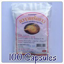 100 Pills Pueraria Mirifica Herbal Natural 100% Breast Bust Enlargement Firming