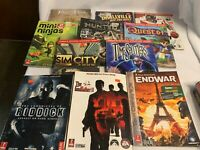 Lot of 11 Prima Video Game Strategy Guides Quest64 Persia Godfather II End War
