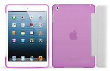Purple Soft Tough Smart Gel Case compatible with Smart Cover for Apple iPad Mini