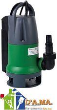 Pompa sommersa automatica idrovora 550w per acque luride ribimex ribiland