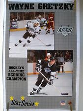 RARE WAYNE GRETZKY KINGS 1989 VINTAGE ORIGINAL NHL STARLINE HOCKEY POSTER