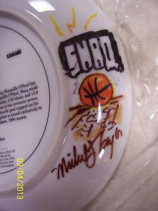 """Shaquille """"Shaq"""" O'Neal Gartlan artist signed  & remark artwork Plate 1994 RARE!"""
