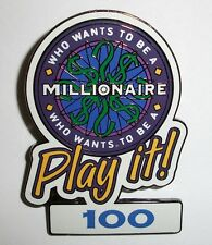 Disney Attraction Who Wants to Be a Millionaire Play it! Set 100 Points Pin