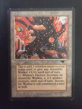 MTG magic *MISHRA'S FACTORY* Antiquities Autumn Land Rare English