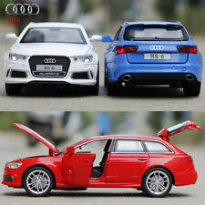 1:32 AUDI RS6 SUV Metal Alloy Diecast Model Pull Back Car Kid Child LED Toy Gift