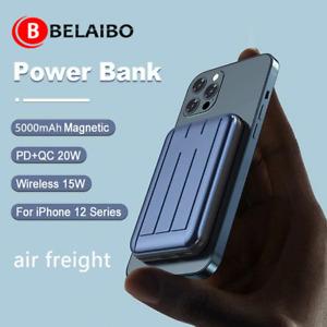 5W Magnetic 5000mah Battery Wireless Power Bank Magsafe iphone XS/11/12 Xaiomi