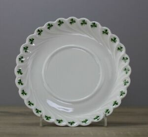 Haviland Limoges Trefle Vert Kleeblatt Unterteller/Untertasse Ø ca. 14 cm