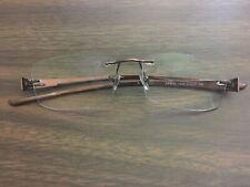 Ray Ban RB 8583 1020 Titanium H Rimless Frames 51[]17 140 Need Repair