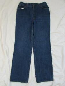 Vtg 70s Levi's 25036 Womens Orange Tab Wide Leg Denim Jean Measure 30x33 Boho