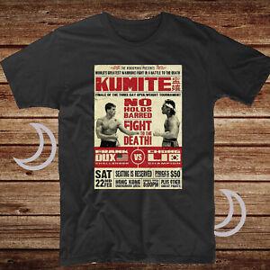 Bloodsport Kumite Fighting MMA JCVD Martial Arts Movie Film Mens T Shirt