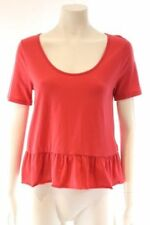 metalicus Nylon Short Sleeve Solid Tops & Blouses for Women