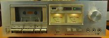 Vintage Pioneer CT-F500 Cassette Deck Tape Player Recorder Parts Not Working