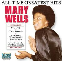 Mary Wells - All-Time Greatest Hits [New CD]