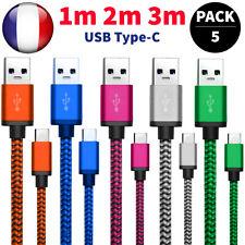 CABLE USB TYPE C CHARGEUR POUR SAMSUNG S8 S9 S10 A8 HUAWEI P20 PRO P10 P30 Lite
