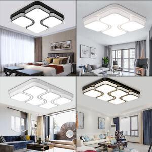 48W - 100W LED Deckenleuchte Dimmbar Deckenlampe Wohnzimmer Badleuchte Lampe