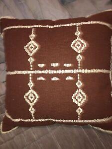 Woven Textured  Sofa Throw Pillow Threshold™  Studio McGee Clay Rust Target