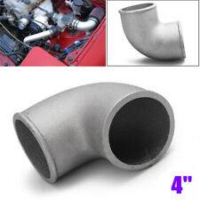"4""/102mm 90°Elbow Cast Aluminum Turbo Pipe Intercooler Tight Bend Tube Universal"