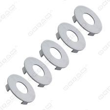 5 Universal Rueda de la aleación Tapacubos Para Aluminio Adornos-Gris Ø 60 Mm - 57 Mm U1