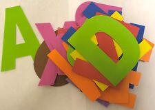 Colorati 26 PZ foglio di schiuma EVA LETTERE DELL'ALFABETO 130 mm altezza ABC