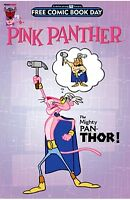 PINK PANTHER 1 MIGHTY PAN-THOR FCBD FREE COMIC BOOK DAY 2016 GIVEAWAY PROMO