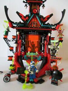 LEGO NINJAGO Forbidden Spinjitzu 71712 EMPIRE TEMPLE OF MADNESS 100% Complete