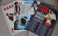 Hank Marvin Set Of 5 Mini Tour Posters/Flyers. The Shadows. Rare Set.