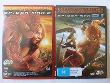 Spider-Man 2 / Spider-Man 2.1: Extended Edition [M] (4 DVD, 2004, R4)