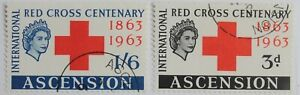 Ascension – 1963 Red Cross Set – Superb Used (R6-E)